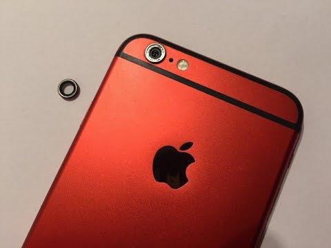 iPhone 6 / 6 plus Kamera Linse, Glas wechseln / repair camera lens, glass (real repair)