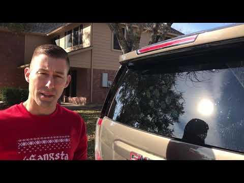 How to replace hidden rear wiper blade 2015 GMC Yukon