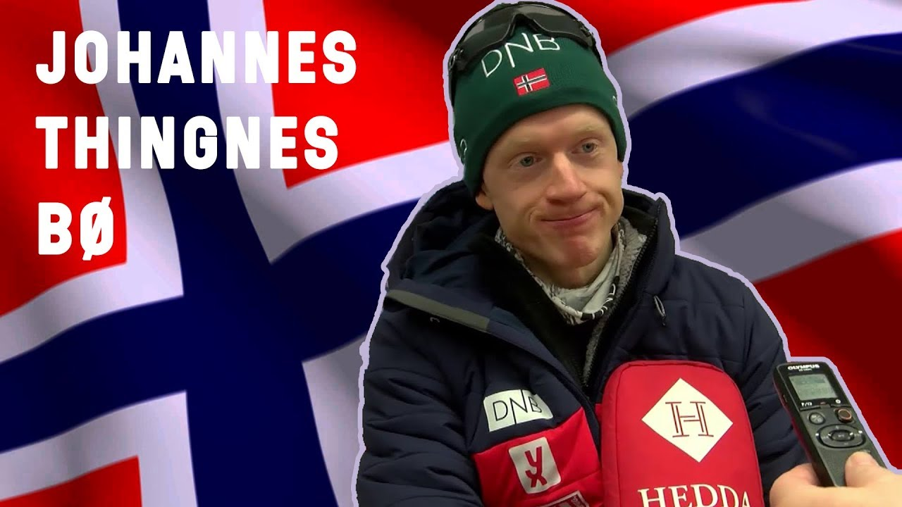 JOHANNES THINGNES BOE = FUNNY GUY OF BIATHLON
