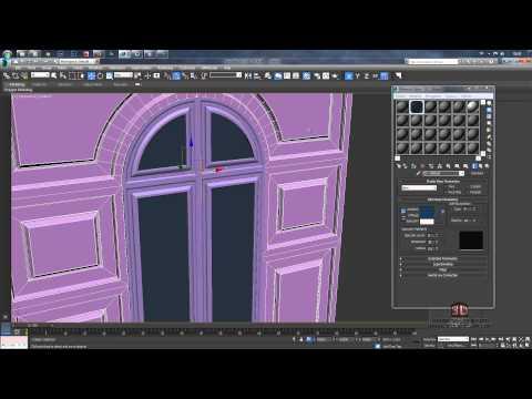 3ds Max İle Klasik Kapı Modelleme - 3ds Max Classic Door Modeling Tutorial