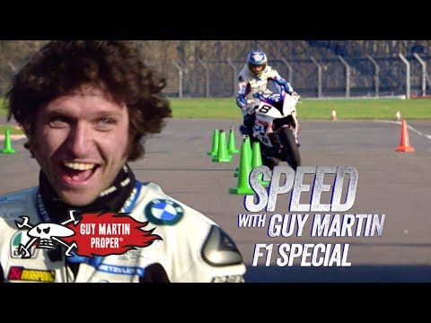 Xxx Mp4 Guy S Bike VS Red Bull F1 Car The Slalom Test Guy Martin Proper 3gp Sex