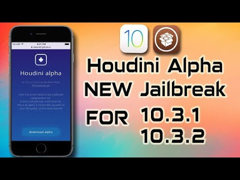 [New Version] Download Houdini Jailbreak for iOS 10.3.1 & iOS 10.3.2 Without Computer