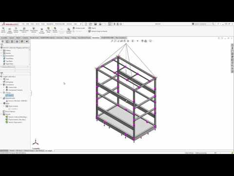 SOLIDWORKS - Center of Gravity, Tipping and Lifting