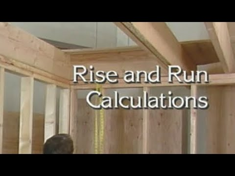 Measure twice for your total rise and run and your individual rise and run