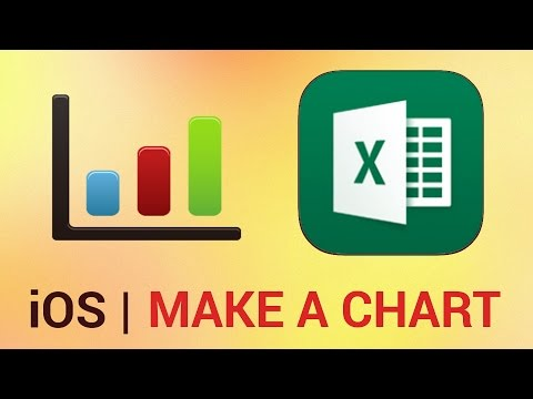 How to Make a Chart in Excel for iPhone