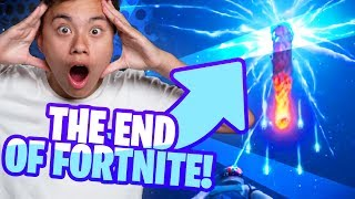 THE END OF FORTNITE! |