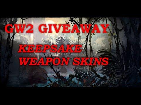 [CLOSED]GW2 Keepsake Weapon Skin Giveaway