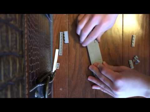 How to build a Lego knife part 2 blade