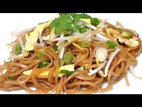 Lao stir fried noodles