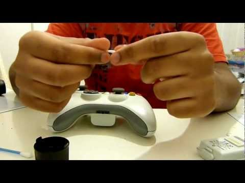 How to fix an xbox 360 controller's mic jack/port