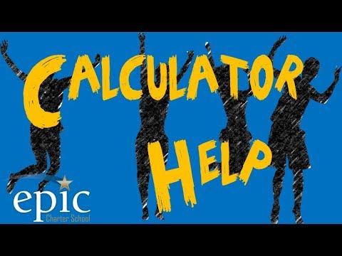 Algebra 1: TI 30XS Scientific Calculator Help : Slope