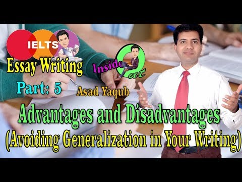 IELTS Essay Writing Valuable Tips || Avoid Generalization || Asad Yaqub