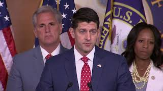 Ryan: Putin Does Not Share Our Interests, Values