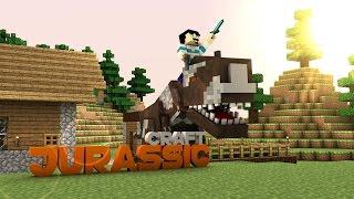YENİ DİNOZOR ve İNEKLER ! - Minecraft : Extreme Jurassic Craft #7