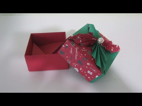 TUTORIAL - Christmas Gift Box