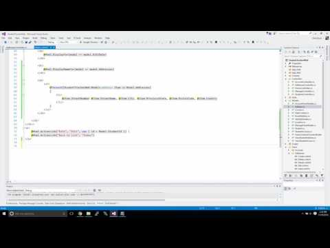 MVC Web Application - Part 3 - Use jQuery and Client side coding to display related objects