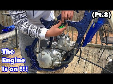 The Dirt Bike Engine Is On - Yz125 Project Build (Pt.8)