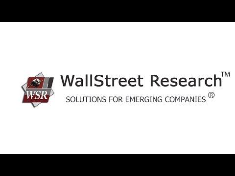 WallStreet Research CEO Alan Stone