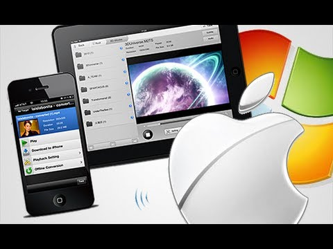 How to: Stream Movies/Music to your iPhone, iPod & iPad (Free) - Air Playit
