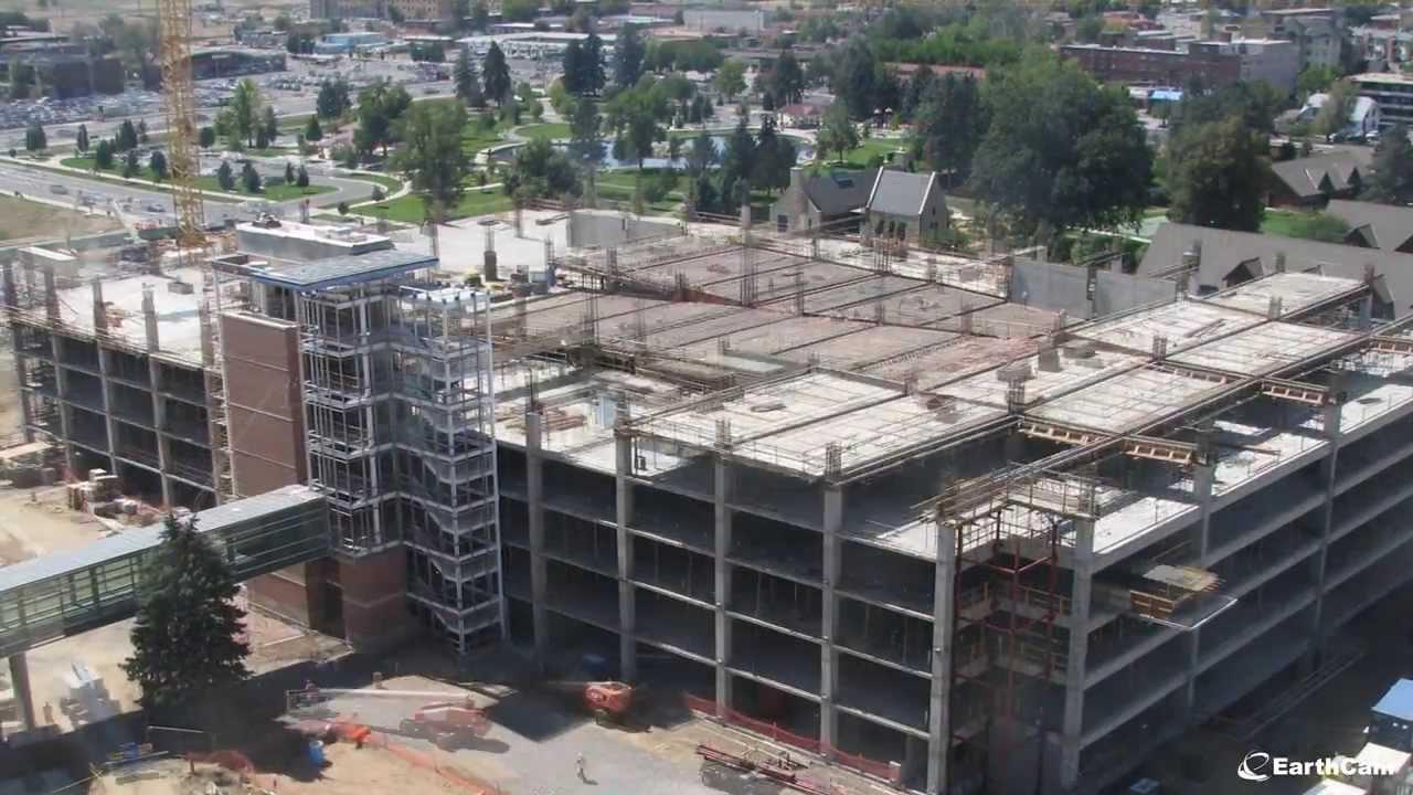 University of Colorado Hospital Construction Time-Lapse