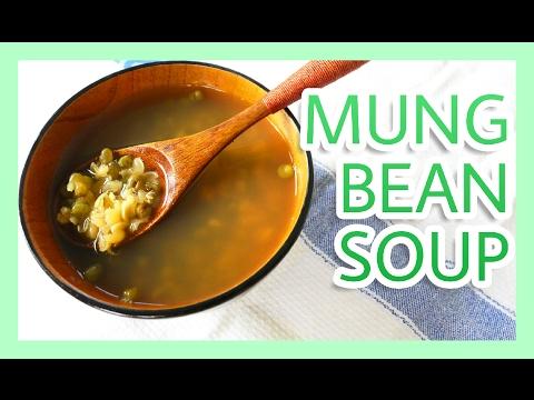 Mung bean soup recipe vegan 綠豆湯