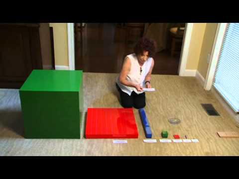 Elementary 1 Math Demonstrations on Montessori Records Xpress