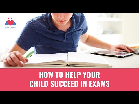 How to help your child succeed in exams