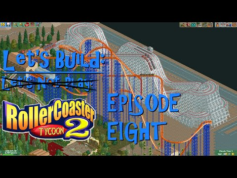 Let's Build Roller Coaster Tycoon 2 Episode 8: Monorail