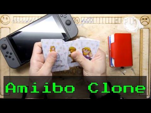 Clone Amiibo Cards For Mario Odyssey Nintendo Switch