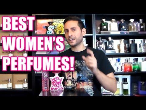 Top 10 Best Women's Perfumes / Fragrances! 2015