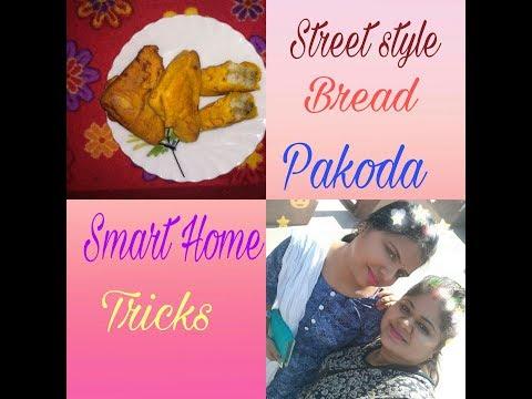 Street Bread Pakora - How to make Potato Bread Pakora - Bread Pakoda Recipe in Hindi