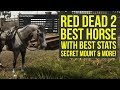 Download  Red Dead Redemption 2 Best Horse WITH BEST STATS, Easy To Get Amazing Saddle & More (RDR2 best horse MP3,3GP,MP4