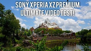 Sony Xperia XZ Premium 4K/960fps Camera Video Test!