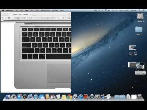 How to take a Screenshot on OSX 10.8 Mountain Lion