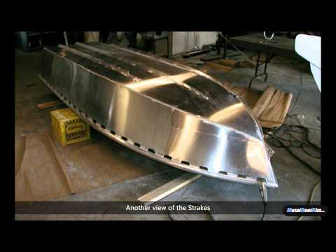 Building a 12 Foot Aluminum Skiff From Kit