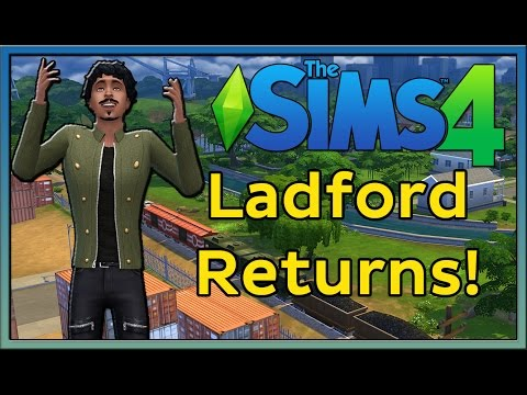 LADFORD RETURNS! (The Sims 4 CAS Demo)