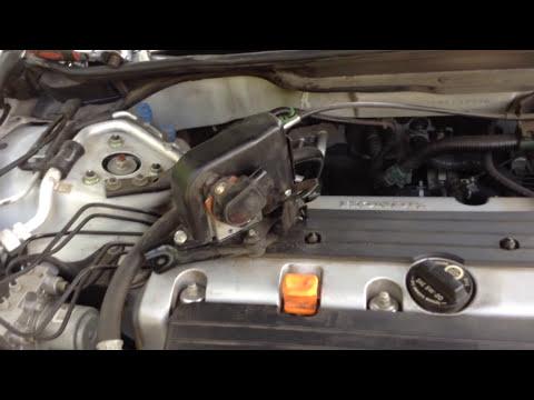 How to replace the accelerator pedal position  sensor (app sensor) on a 2006 honda accord