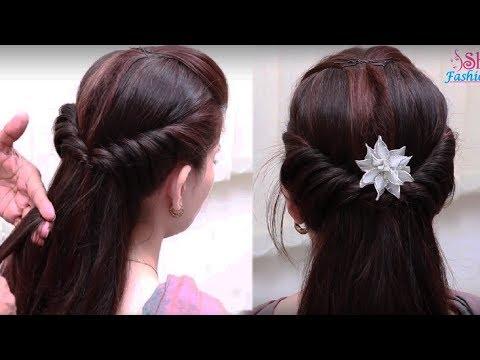 Easy Hair Style for Long Hair || Ladies Hair Style Videos 2017 - PART2