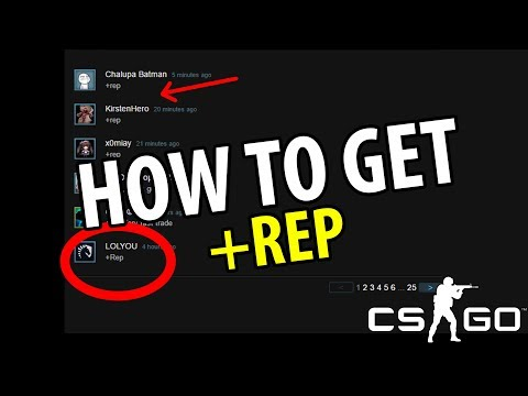 CS:GO TRADING TIPS | How To Get Steam Rep