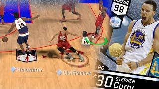 NBA 2K17 My Team - Diamond Stephen Curry Got Crossed! PS4 Pro 4K