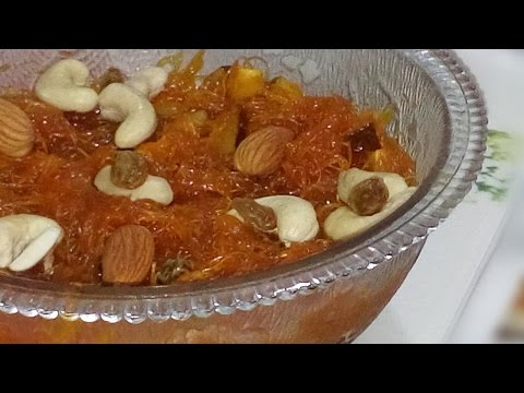 How to Make Seviyan Vermicelli Sweet for Ramadan Recipe