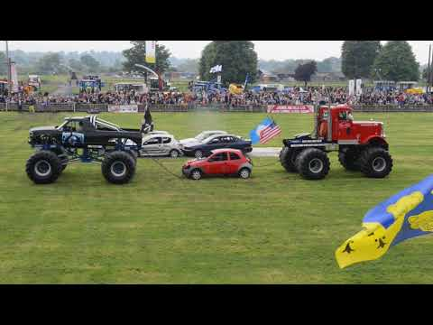 Crowds turn out to enjoy the Shropshire County Show 2018