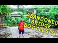 RIVER TREASURE HUNT ANTIQUE BOTTLES ABANDONED BRIDGES