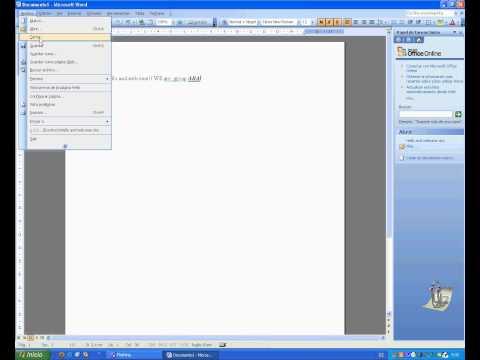 Tutorial of Microsoft Word