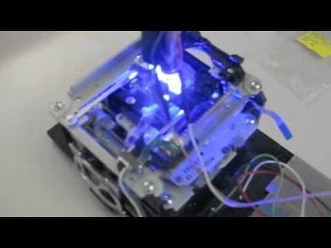 DIY Micro Laser Cutter
