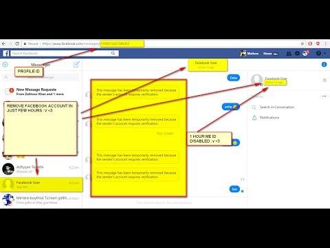 EK Report Me Fake Fb Id Kaise Udaye Latest 2018 Updated Trick In Hindi