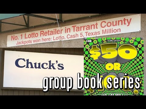 Going to a Jackpot Store! $50 or $100 TEXAS LOTTERY Group Book Series