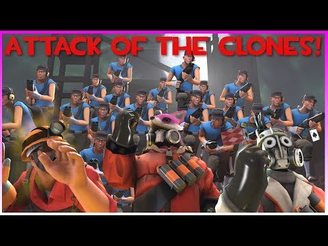 TF2: Attack of the Clones! (w/ Mechawreck & AudeoBeem)