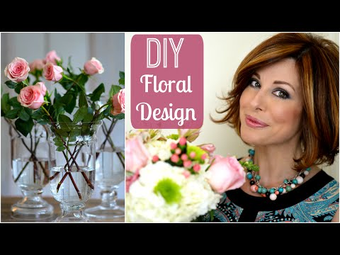 How I Create Floral Arrangements For My Home