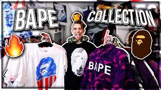 MY ENTIRE BAPE COLLECTION!! (CLOTHES/ACCESSORIES)